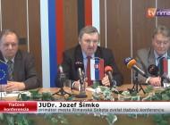 Tlačová beseda primátora mesta Rimavská Sobota, JUDr. Jozefa Šimka
