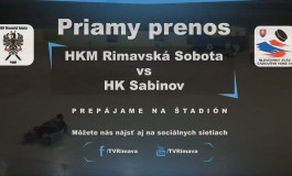 HKM Rimavská Sobota vs HK Sabinov