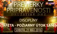 Previerky pripravenosti DHZ 2016