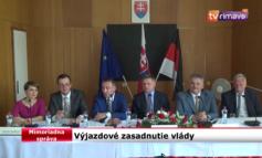 Mimoriadna správa o výjazdovom zasadnutí vlády Slovenskej republiky